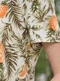 Holiday Plant V Neck Short Sleeve Tee