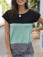 Shift Color-Block Short Sleeve T-Shirt