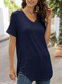 Short Sleeve Shirts Daily Casual Top