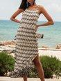 Off White Swing Beach Maxi Dress