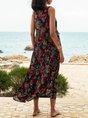 Swing Beach Floral Maxi Dress