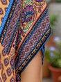 Women Exotic Tribal Short Sleeve Dresses