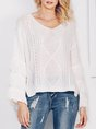 Bell Sleeve Casual Shift Sweater